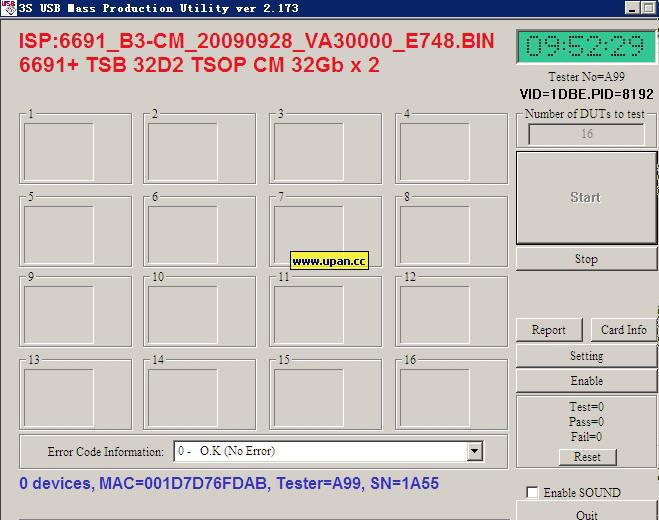 鑫创3S6690/6691/6692量产工具最新版v2.173-U盘之家
