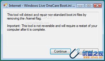 xp系统停止服务图片_RepairBootINI V1.5版(Windows XP系统)启动文件修复小工具下载 - U盘 ...